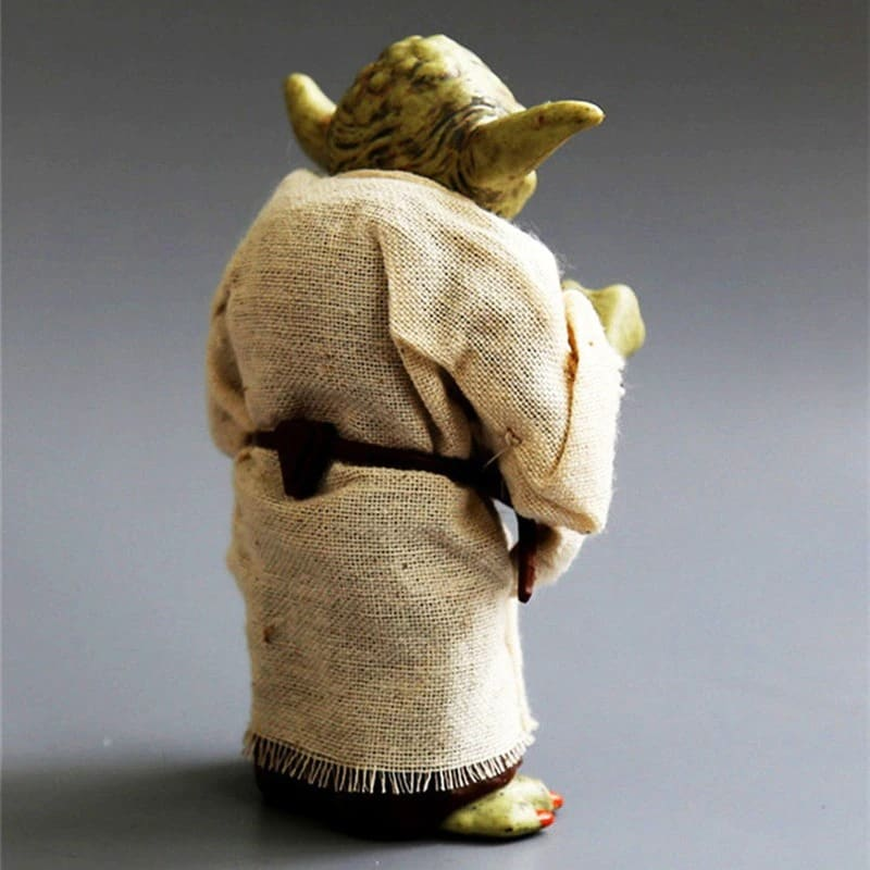 Disney Star Space Wars Master Yoda PVC Action Figure Toy Yoda Model Collectible Toys For Children Boys Christmas Birthda Movie & TV - 3