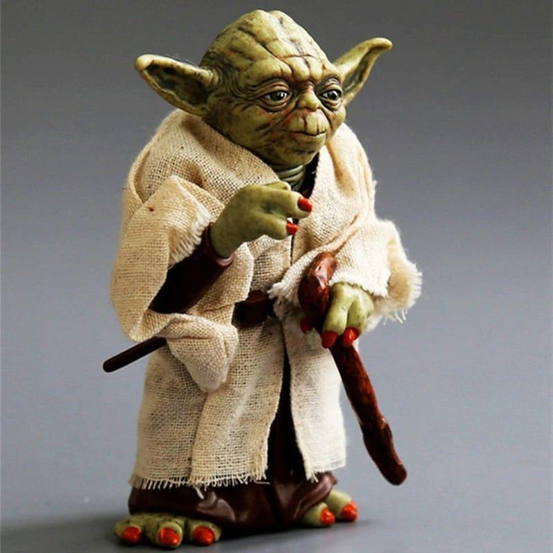 Disney Star Space Wars Master Yoda PVC Action Figure Toy Yoda Model Collectible Toys For Children Boys Christmas Birthda Movie & TV - 2