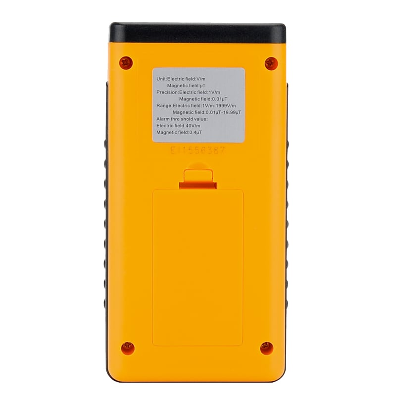 Electromagnetic Frequency Radiation Detector - 5Hz To 3500MHz, 1 To 1999V/m Range, LCD Display, Ghost Detector - 3