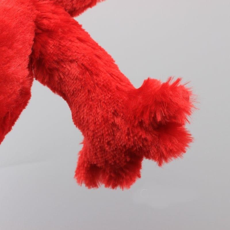 Elmo Fabric Doll Sesame Street Stuffed and Plush Toy Red - 5