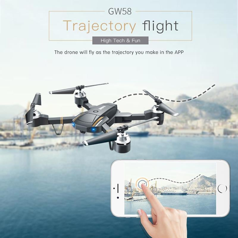 Folding Selfie Drone GW58/XT-1 with HD Camera Headless Mode Hover Quadcopter - 4