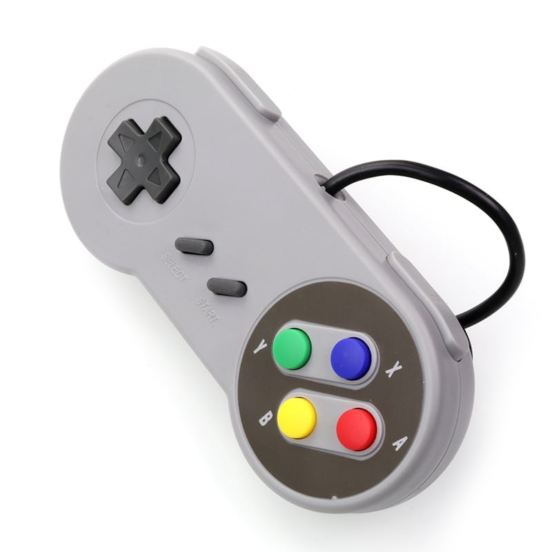 Gaming Controller for Windows PC, MAC Computer and Nintendo SNES Space Gray - 2