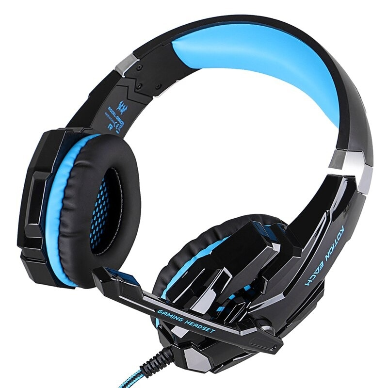 Gaming Headset for PlayStation PS4 Tablet PC 3.5mm Headphone Mic for Laptop - 2