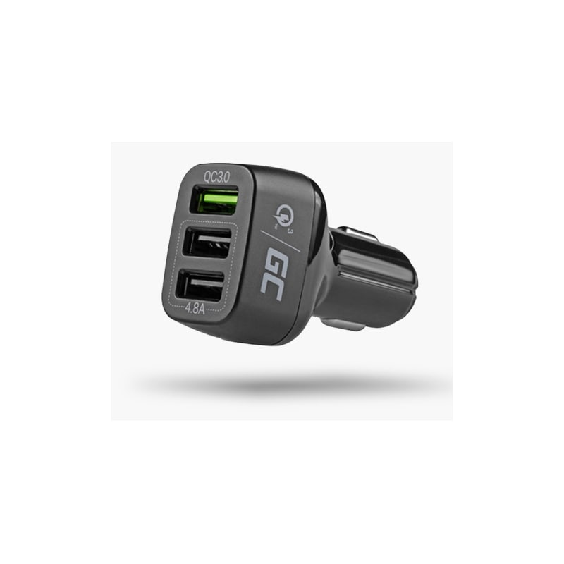 GC® Car Charger 42 W 3-Port USB 3.0 Car Charger QC Quick Charge for iPhone iPad Samsung HTC Huawei LG Xiaomi - 3