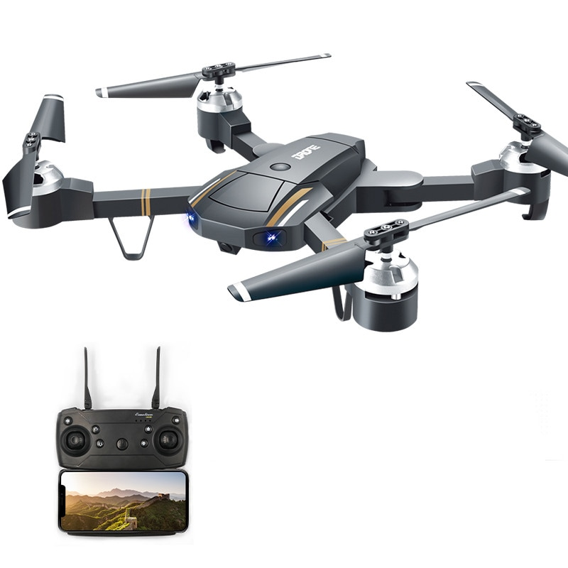 GW58/XT-1 Folding Selfie Drone with Camera HD Headless Mode Hover Quadcopter Wifi FPV RC Quadrocopter - 30W - 1