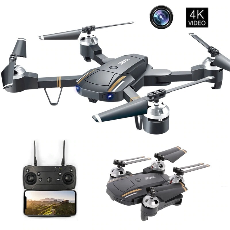 GW58/XT-1 Folding Selfie Drone with Camera HD Headless Mode Hover Quadcopter Wifi FPV RC Quadrocopter - 30W - 2