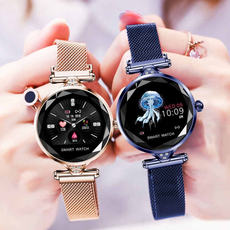 H1 Waterproof Women Lady Fashion Smart Watch Bracelet Sport Fitness Tracker Blue CHINA - 8