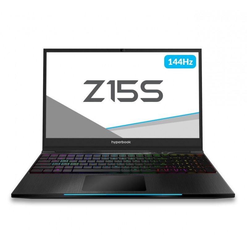 Hyperbook Pulsar Z15S i7-8750H RTX2060 Windows 10 SSD (Solid State Drive) 500GB 8GB Black - 1