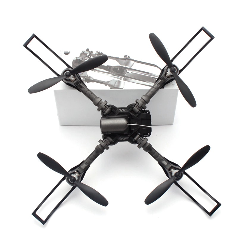 iDrone i5 Camera Drone - Altitude Hold, Hedless Mode, Waypoints Follow, FPV App, Camera, Foldable, 6 Axis Gyro - 4