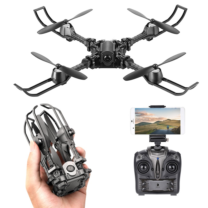 iDrone i5 Camera Drone - Altitude Hold, Hedless Mode, Waypoints Follow, FPV App, Camera, Foldable, 6 Axis Gyro - 1
