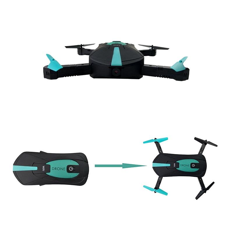 JYO180 Mini Drone - 2.4GHz WiFi Control, 720p HD Camera, 6 Axis Gyro, App Control, 500mAh, 30m Range, FPV, 3D - 2