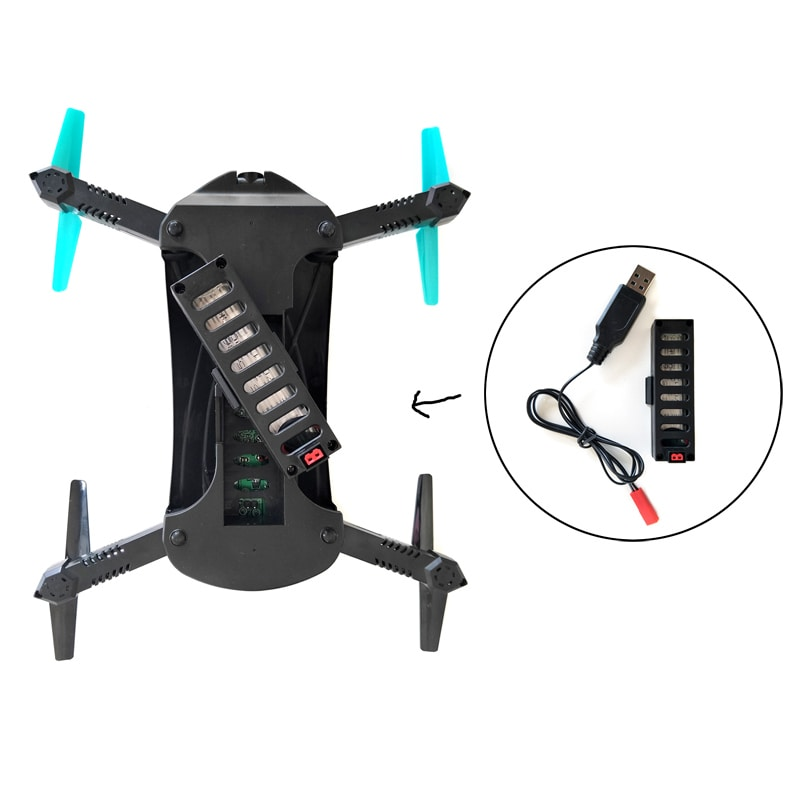 JYO180 Mini Drone - 2.4GHz WiFi Control, 720p HD Camera, 6 Axis Gyro, App Control, 500mAh, 30m Range, FPV, 3D - 3