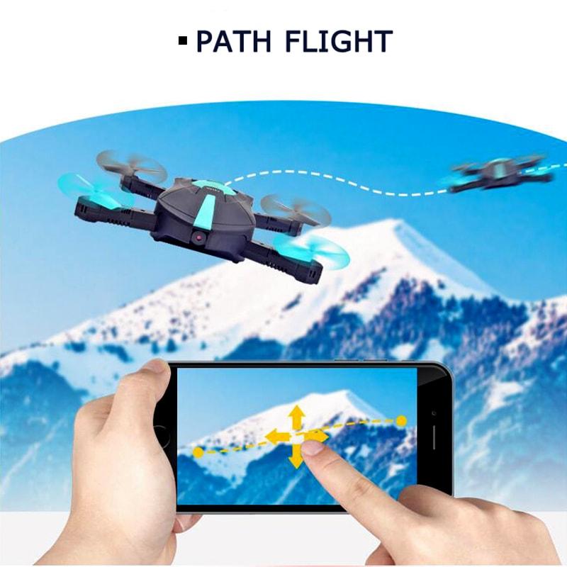 JYO180 Mini Drone - 2.4GHz WiFi Control, 720p HD Camera, 6 Axis Gyro, App Control, 500mAh, 30m Range, FPV, 3D - 8