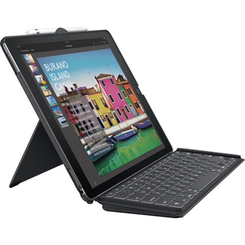 "Klawiatura Logitech Slim Combo Case for iPad Pro 12,9"" | Refurbished - 5"