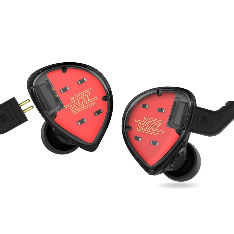 KZ ES4 HiFi Hybrid In-ear Earphone Wired Earbuds with Mic WITH LINE CONTROL - 3