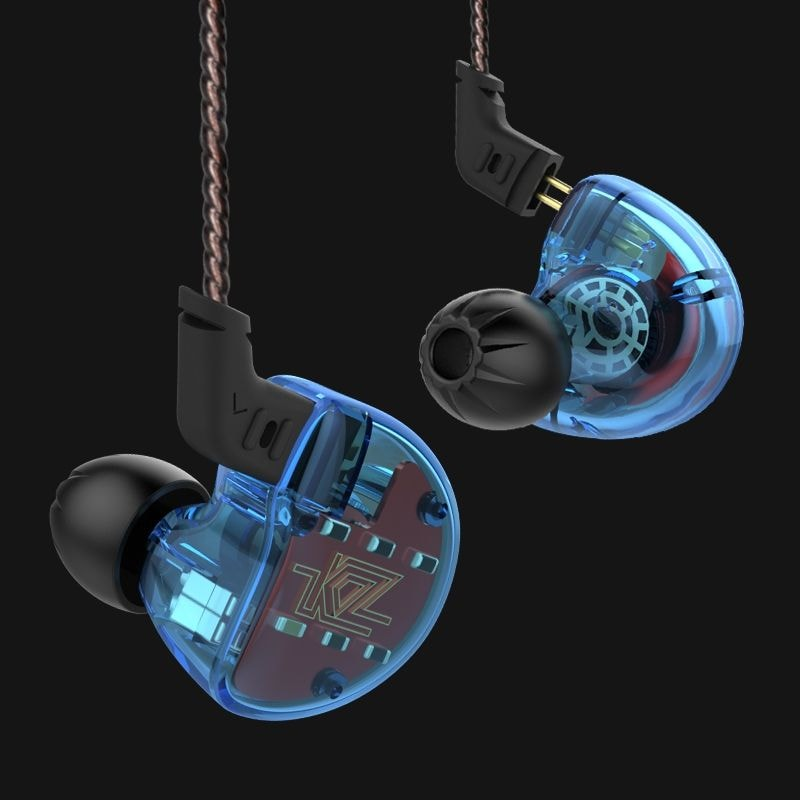 KZ ZS10 HiFi Hybrid Earphone Wired Earbuds WITHOUT MICROPHONE - 3