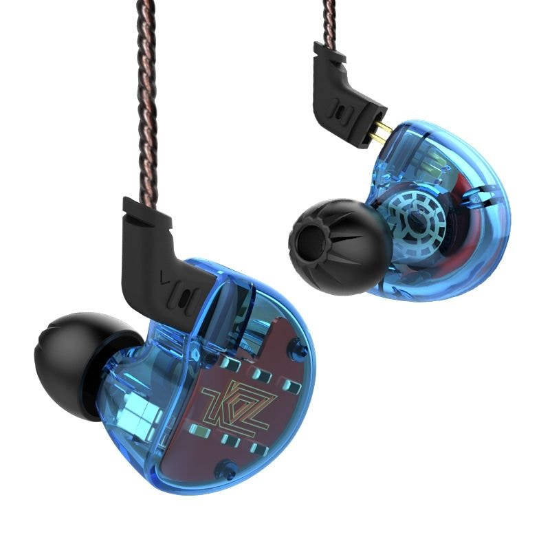 KZ ZS10 HiFi Hybrid Earphone Wired Earbuds WITHOUT MICROPHONE - 4