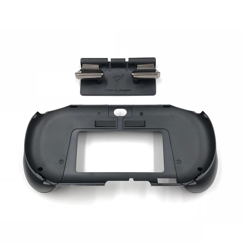 L2 R2 Hand Grip Handle Case & L3 R3 Trigger Button Touchpad Black For PS VITA 2000 - 2