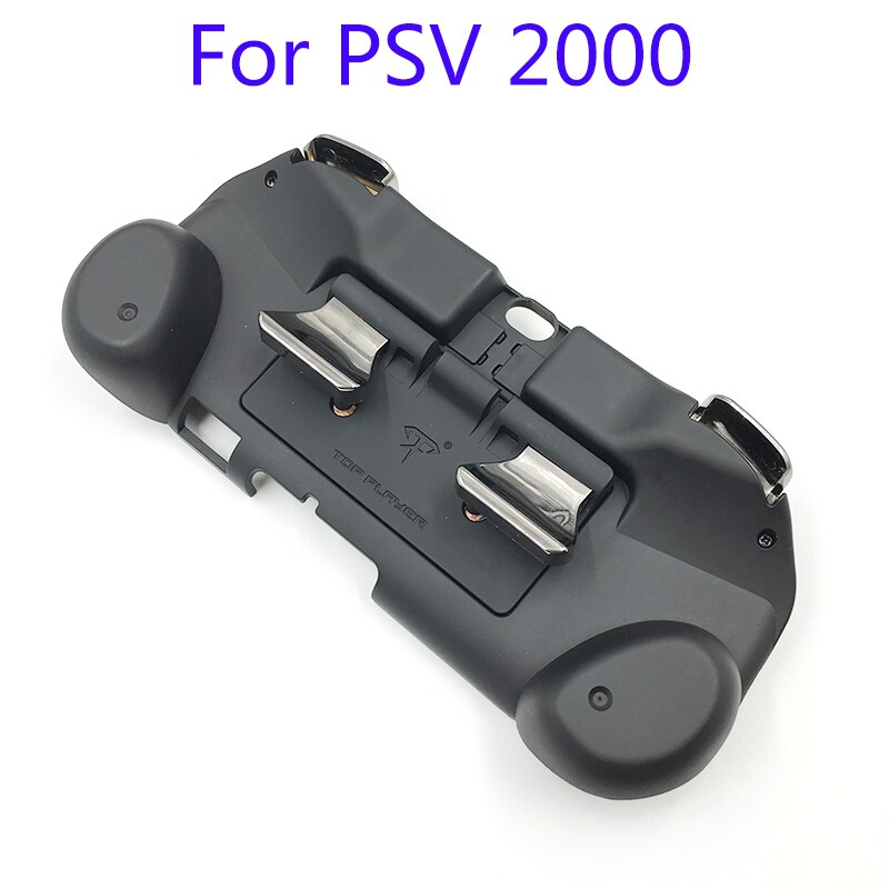 L2 R2 Hand Grip Handle Case & L3 R3 Trigger Button Touchpad Black For PS VITA 2000 - 5