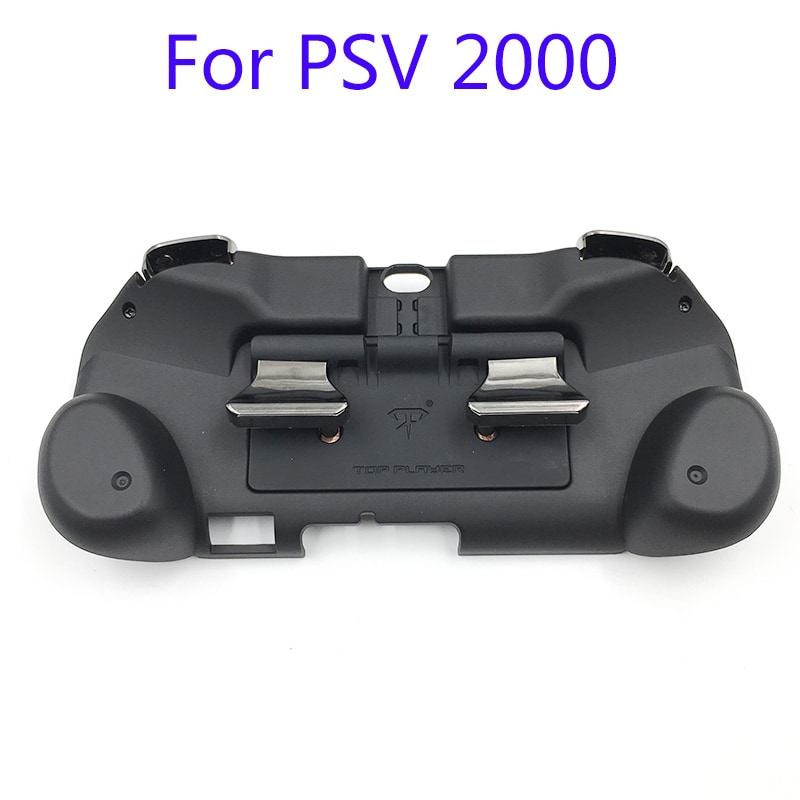 L2 R2 Hand Grip Handle Case & L3 R3 Trigger Button Touchpad Black For PS VITA 2000 - 4