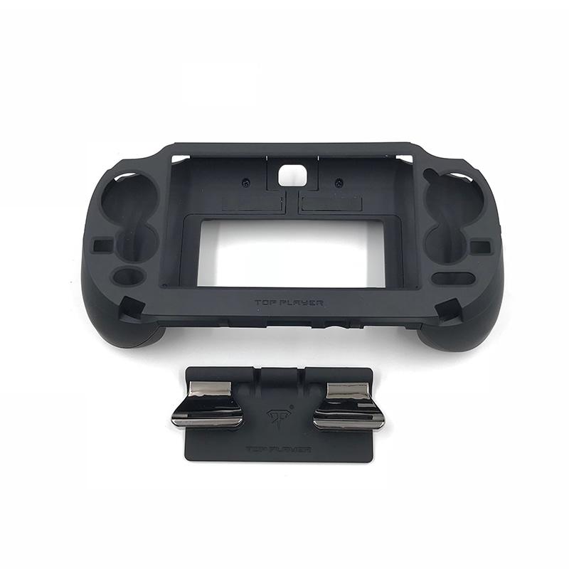 L3 R3 Trigger Button & L2 R2 Handle Grip Case Holder Black for PS Vita PSV 1000 - 1