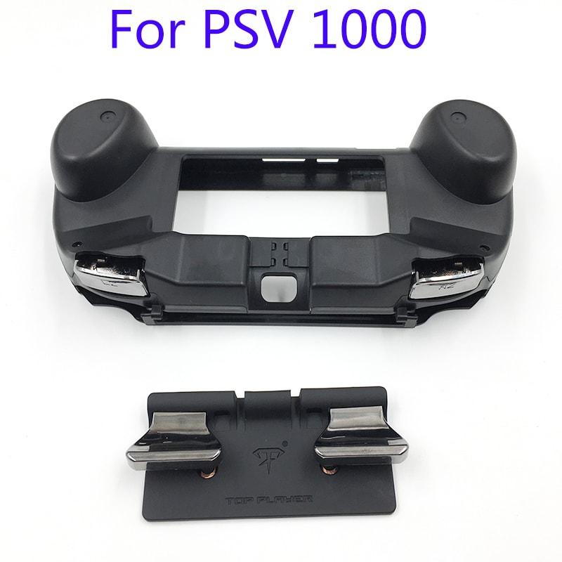L3 R3 Trigger Button & L2 R2 Handle Grip Case Holder Black for PS Vita PSV 1000 - 2