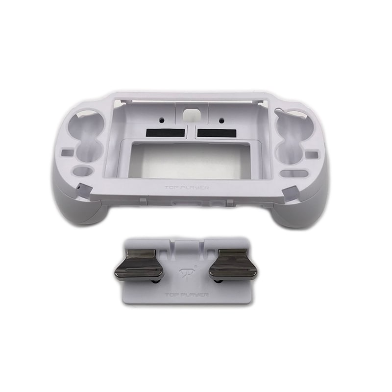 L3 R3 Trigger Button & L2 R2 Handle Grip Case Holder White for PS Vita PSV 1000 - 1