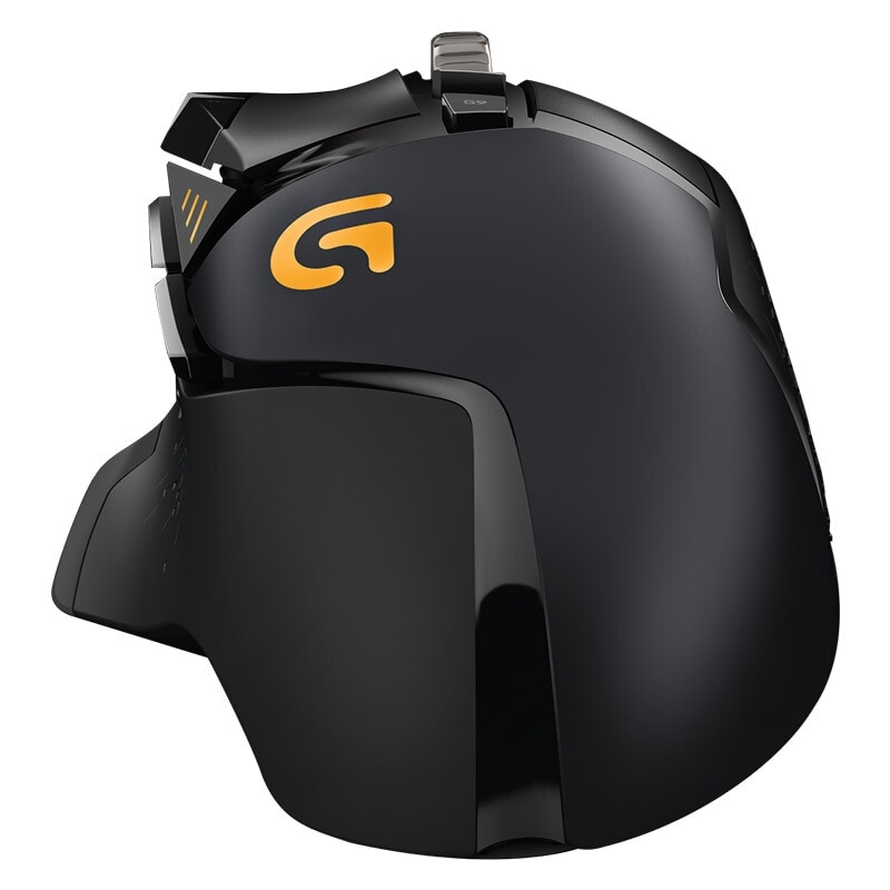 Logitech G502 HERO Gaming mouse with 16,000 DPI - 5