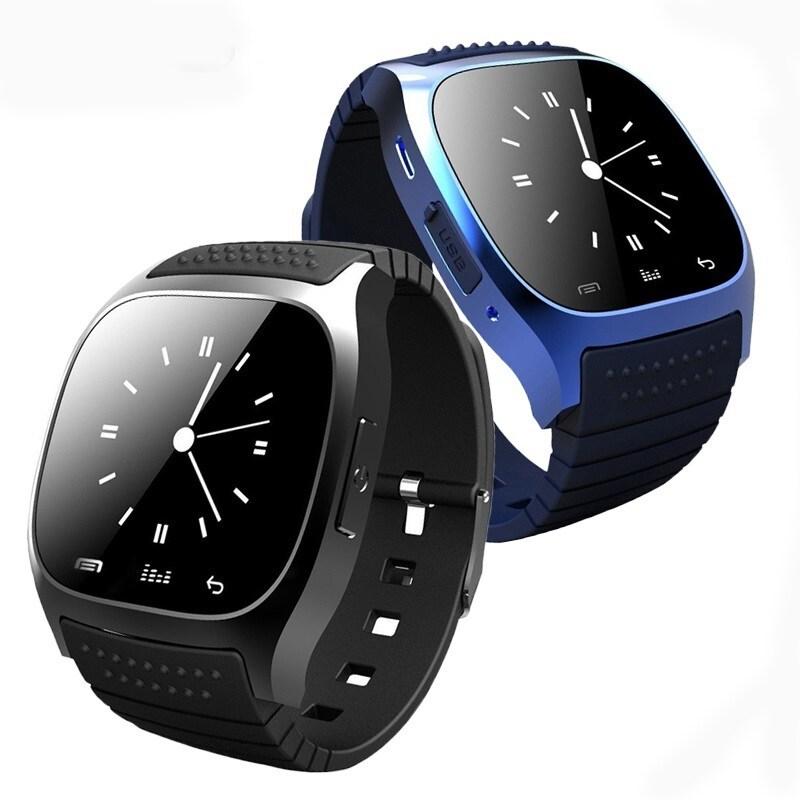 M26 Bluetooth Touch Screen Smart Watch  Blue - 1