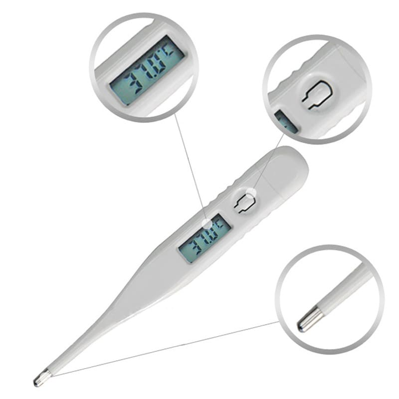 Medical temperator  thermometer  LCD - 3