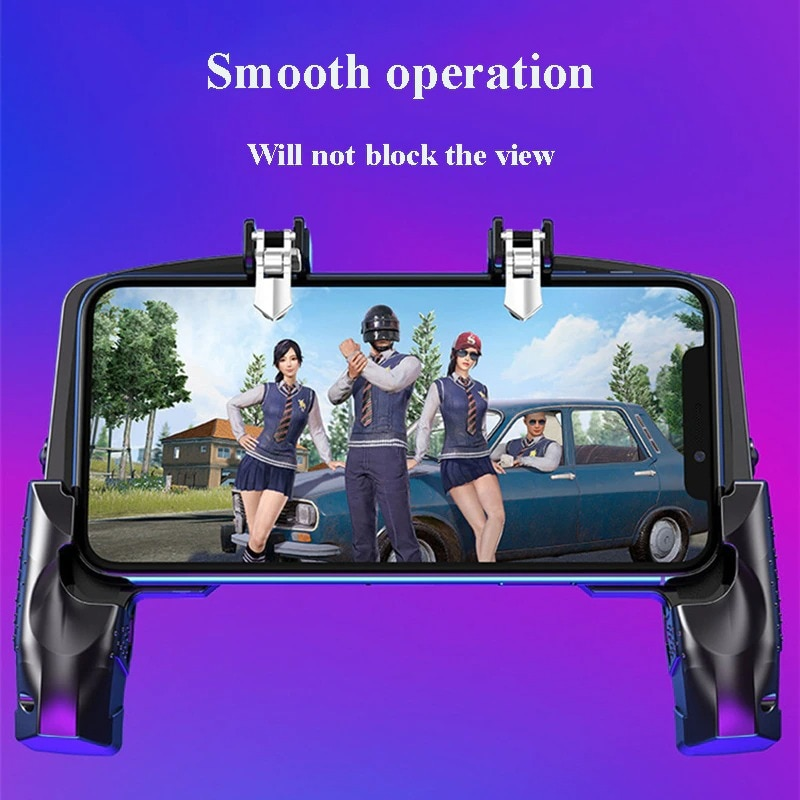 Metal Pubg Controller Joystick For Pubg Mobile Trigger Gamepad For iPhone Android Phone Shootingx Game - 3