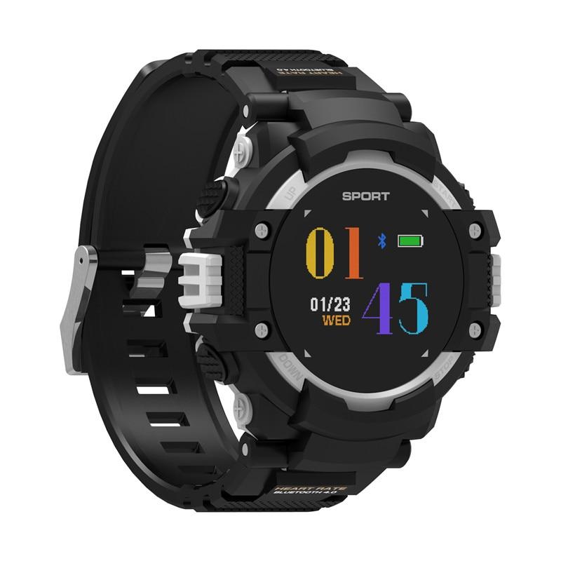 No.1 F7 Smartwatch - GPS, Bluetooth 4.2, Heart Rate, Pedometer, Sleep Monitor, Call Alert, IP67 Waterproof Gray - 3