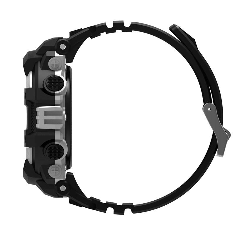 No.1 F7 Smartwatch - GPS, Bluetooth 4.2, Heart Rate, Pedometer, Sleep Monitor, Call Alert, IP67 Waterproof Gray - 5