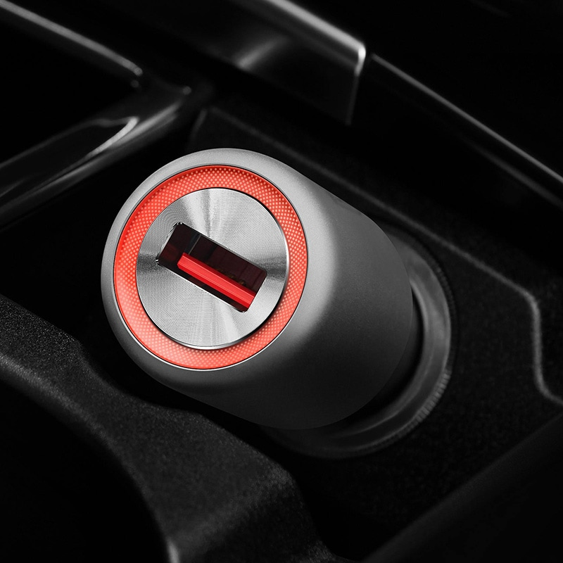 Oneplus Warp Fast Car Charger 30W & Type-C Cable for Oneplus 8 Pro Nord 7 7T 6T 5 Black - 5