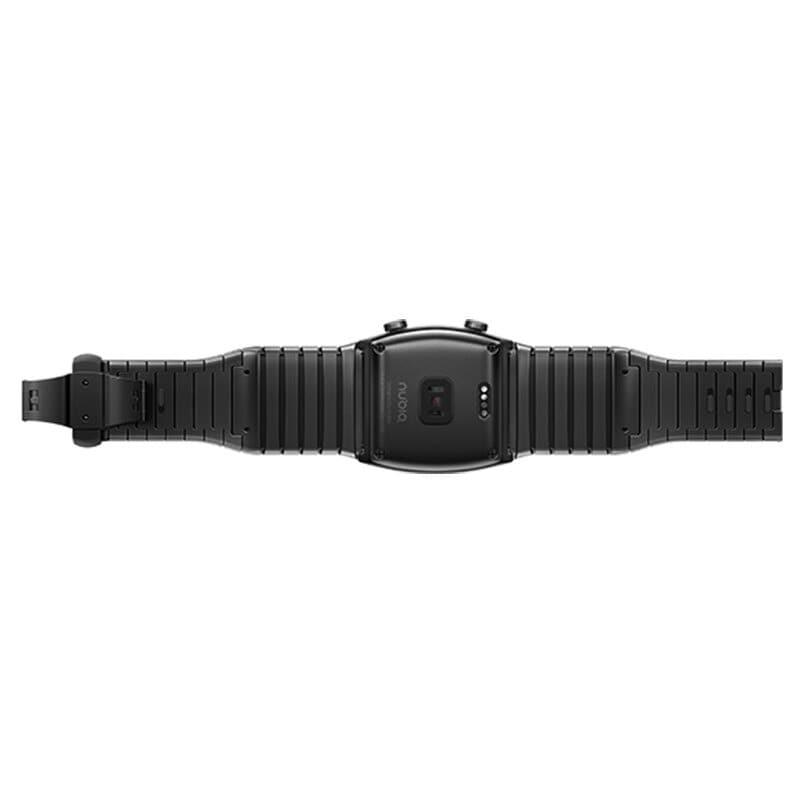 Original Global Version Nubia Alpha Smart Phone Watch 4.01 inch Foldable Flexible Screen Snapdragon 8909W Bluetooth call Black - 6