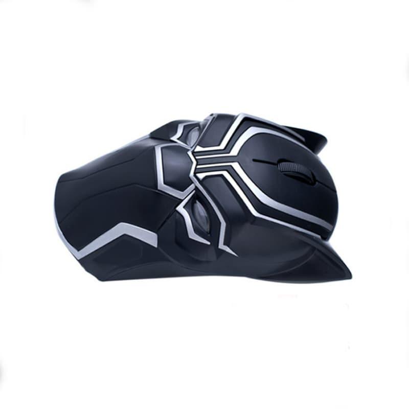 Original Marvel 2.4G Wireless Gaming Mouse Mice 1200DPI Black Panther - 3