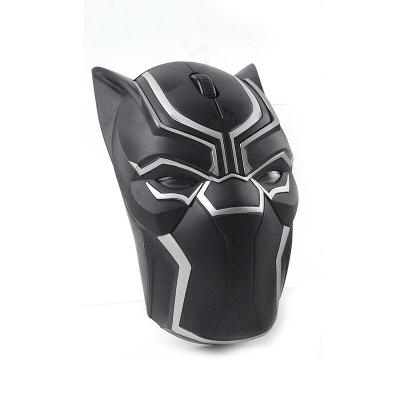 Original Marvel 2.4G Wireless Gaming Mouse Mice 1200DPI Black Panther - 2