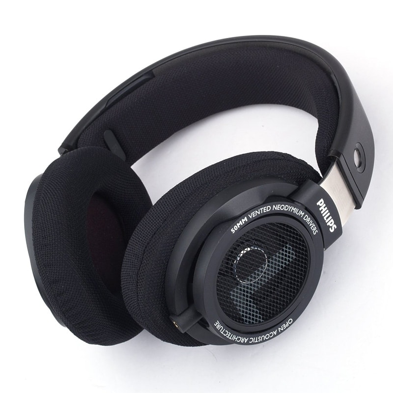 Original Philips SHP9500 High-quality Sound headset with Microphone Black - 3