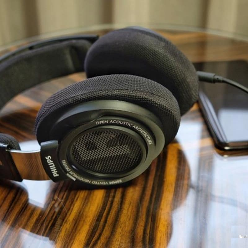 Original Philips SHP9500 High-quality Sound headset with Microphone Black - 7
