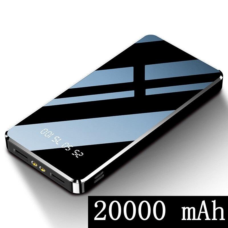 Power Bank 20000mAh Dual USB LED Display Flash Light - 1