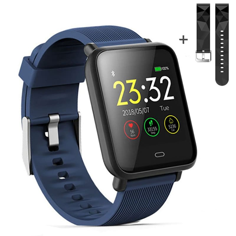 Q9 Waterproof Smart Watch for Android / iOS with Heart Rate Monitor & Blood Pressure Functions - 1