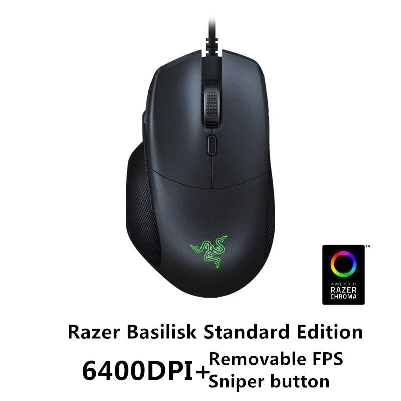 Razer Basilisk Wired Mouse Optical Sensor DPI 8 Buttons Black - 1