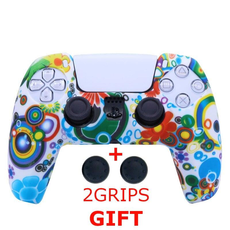 Silicone Cover for DualSense PS5 Controller Graffiti 2 Multi-Color - 1