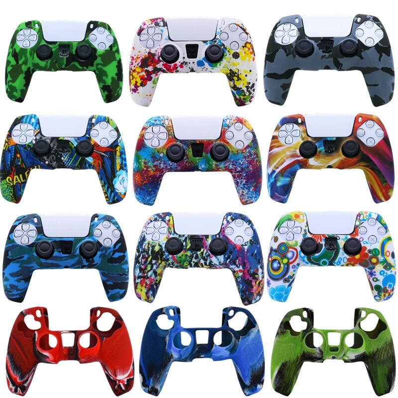Silicone Cover for DualSense PS5 Controller Rainbow Multi-Colored - 3