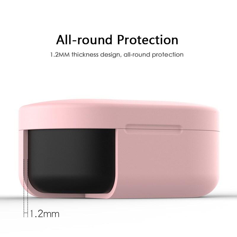 Silicone Protective Cover Earphone Case for Xiaomi Redmi Airdot  Purple - 8