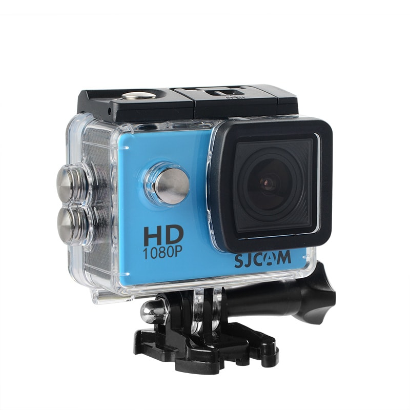 SJCAM SJ4000 12MP Action Camera Underwater Camera Sport Camcorder Blue - 1