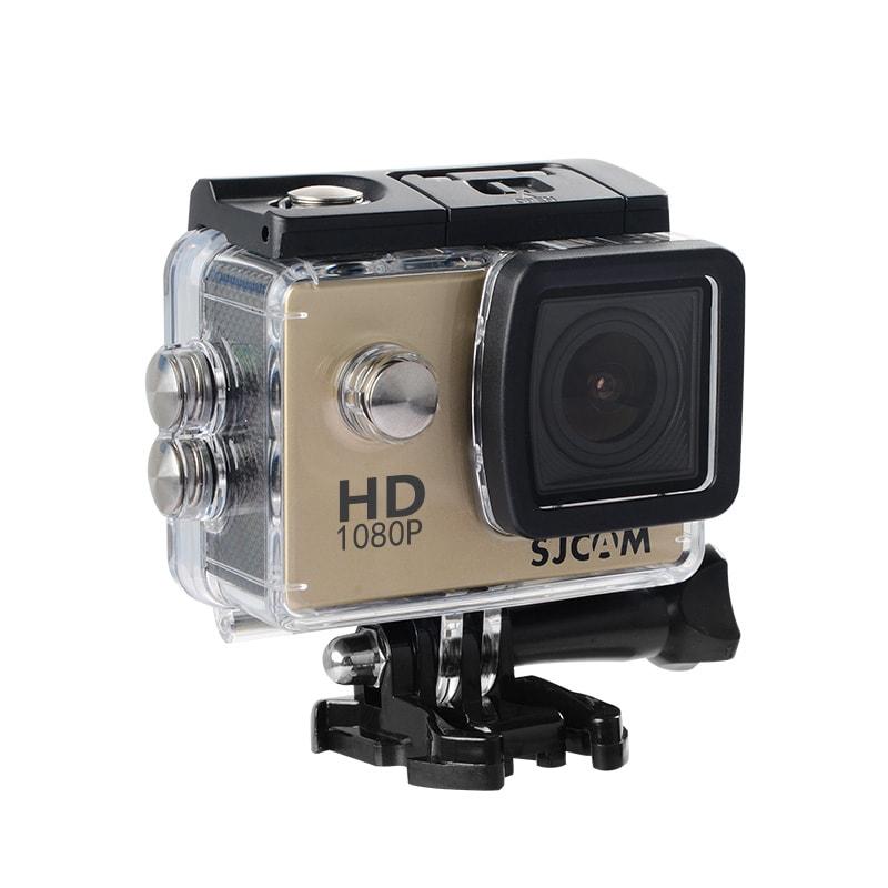 SJCAM SJ4000 12MP Action Camera Underwater Camera Sport Camcorder Golden - 1