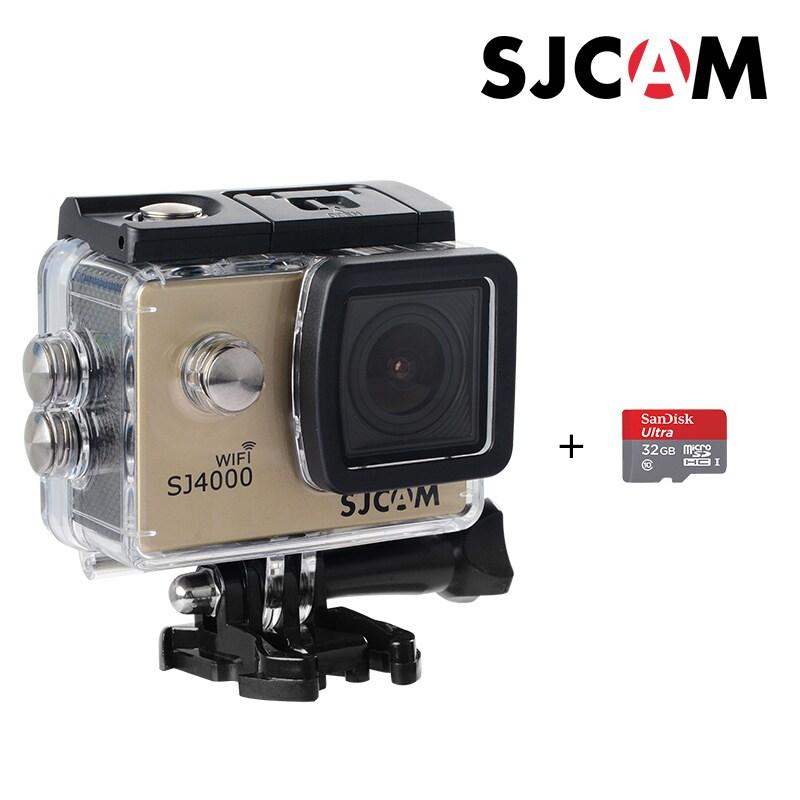 SJCAM SJ4000 WIFI Action Camera FHD1080P waterproof Underwater Camera 12MP Sports Camcorder  Red - 2