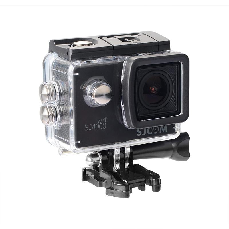 SJCAM SJ4000 WIFI Action Camera FHD1080P waterproof Underwater Camera 12MP Sports Camcorder  Red - 1
