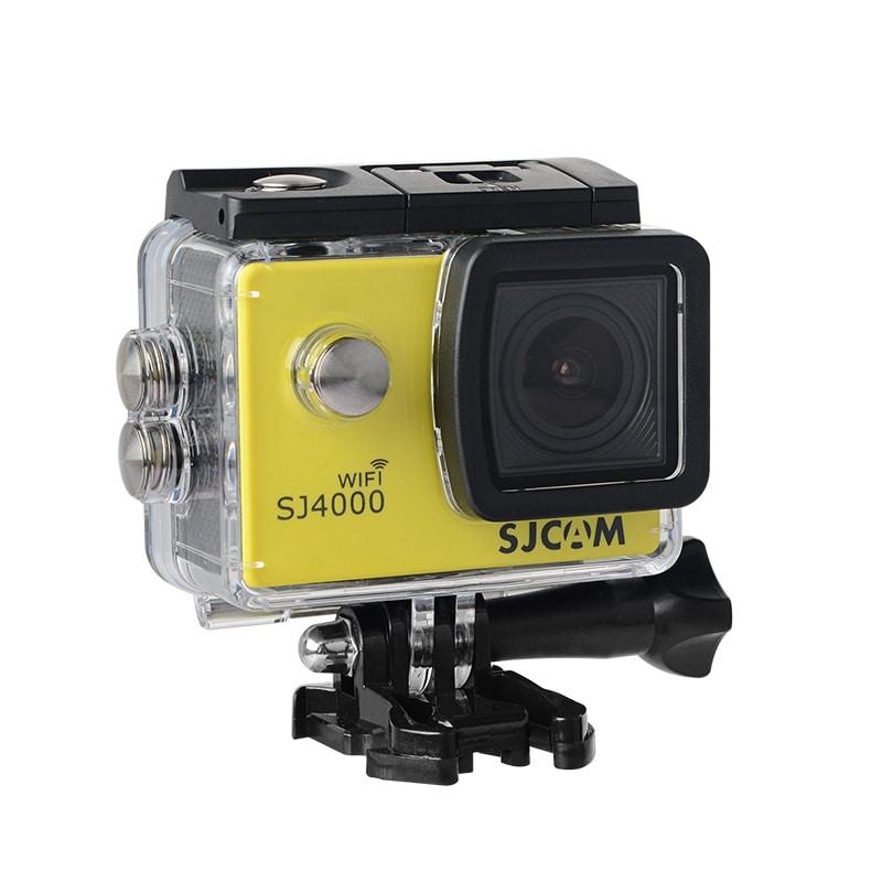 SJCAM SJ4000 WIFI Action Camera FHD1080P waterproof Underwater Camera 12MP Sports Camcorder Yellow - 1